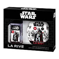 La Rive Star Wars First Order Подарочный набор для мужчин (Дезодорант 80мл / Гель для душа 2в1)