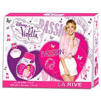 La Rive Violetta Passion For Girl Подарочный набор для женщин (Туалетная вода 20мл / Гель для душа 250мл)