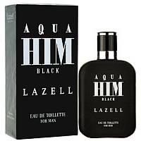 Lazell Aqua Him Black 100мл Туалетная вода для мужчин