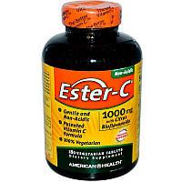 American Health, Эстер-C, 1000 мг с биофлавоноидами цитрусовых, 180 таблеток,Ester-C,  with Citrus Bioflavonoi