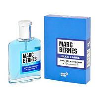 Marc Bernes Cologne Blue Label 90мл Одеколон для мужчин