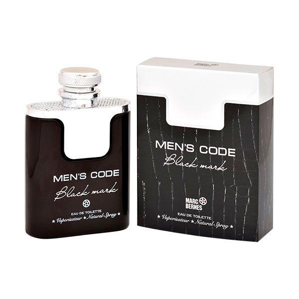 14cdd1f66ee9 Marc Bernes Men s Code Black Mark 100мл Парфюмированная вода для мужчин -  SANAS Parfum Интернет магазин