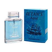 Marc Bernes Ocean's Aqua 100мл Туалетная вода для мужчин