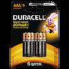 Батарейки Duracell - Basic ААА LR03 1.5V 6/60/180шт