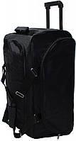 Прочная сумка на колесах 68 л Bagland, Бегленд 0036470 черная