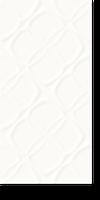 Настенная керамическая плитка Paradyz Esten Bianco структура В 295х595