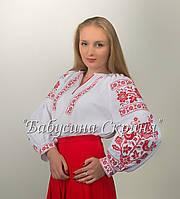 Заготовка жіночої сорочки для вишивки нитками/бісером  БС-107