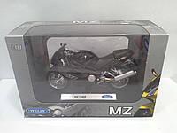 Модель WELLY Мотоцикл MZ 1000S 1:18 (19660 PW)