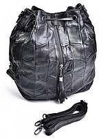 Женская сумка рюкзак черная GW-7003