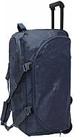 Тканевая сумка на колесах 68 л. BAGLAND (Бегленд) 0036470-blue синий