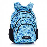 """Рюкзак школьный Dolly 503 ортопедический на два отдела с рисунком """"бабочки"""" для девочки разные цвета"""