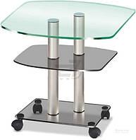 Стол для IT-техники Браво Р/cgg met 650x450x520 мм