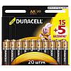 Батарейки Duracell - Basic АА LR6 1.5V 20/200шт