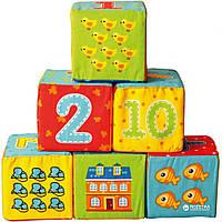 Набор мягких кубиков Vladi toys Цифры VT1401-04