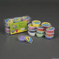 Тесто для лепки Magic Clay 12 цветов