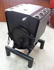 Печь варочная Calgary Lux тип 00 ЧК с конфоркой, фото 2
