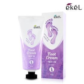 Успокаивающий крем для ног с ароматом лаванды Ekel Foot Cream Lavender, 100 мл