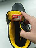 Ботинки кожаные с металлическим подноском, фото 3