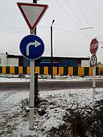Монтаж дорожных знаков, фото 1