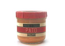 Паштет Hacendado Pato из утиной печени, 160 г (Испания)