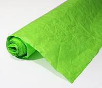 Бумага подарочная жатая Травяная 5 м/рулон