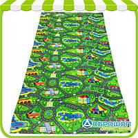 Детский игровой коврик «Городок приключений» 200х110 см
