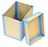 Короб архивный картонный с крышкой (отдельной)