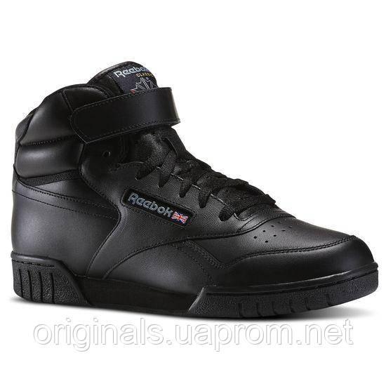 Высокие черные кроссовки Рибок Классик Ex-O-Fit Hi 3478