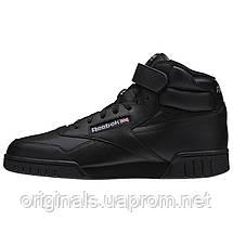 Высокие черные кроссовки Рибок Классик Ex-O-Fit Hi 3478, фото 2