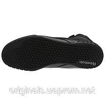 Высокие черные кроссовки Рибок Классик Ex-O-Fit Hi 3478, фото 3