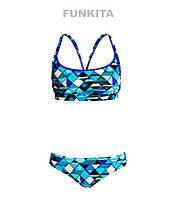 Женский раздельный купальник Funkita Blue Steel FS02, фото 1