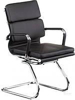 Кресло Special4You Крісло офісне Solano 3 conference черный E4824