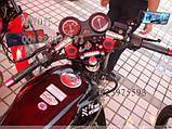 Клипоны руля для Yamaha YBR и другие 125-ки (цвет серебо), фото 2