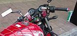 Клипоны руля для Yamaha YBR и другие 125-ки (цвет серебо), фото 3