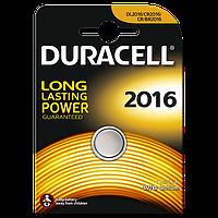 Батарейки Duracell - 2016 Lithium / CR2016 Li-Ion 3V 1/10/100шт