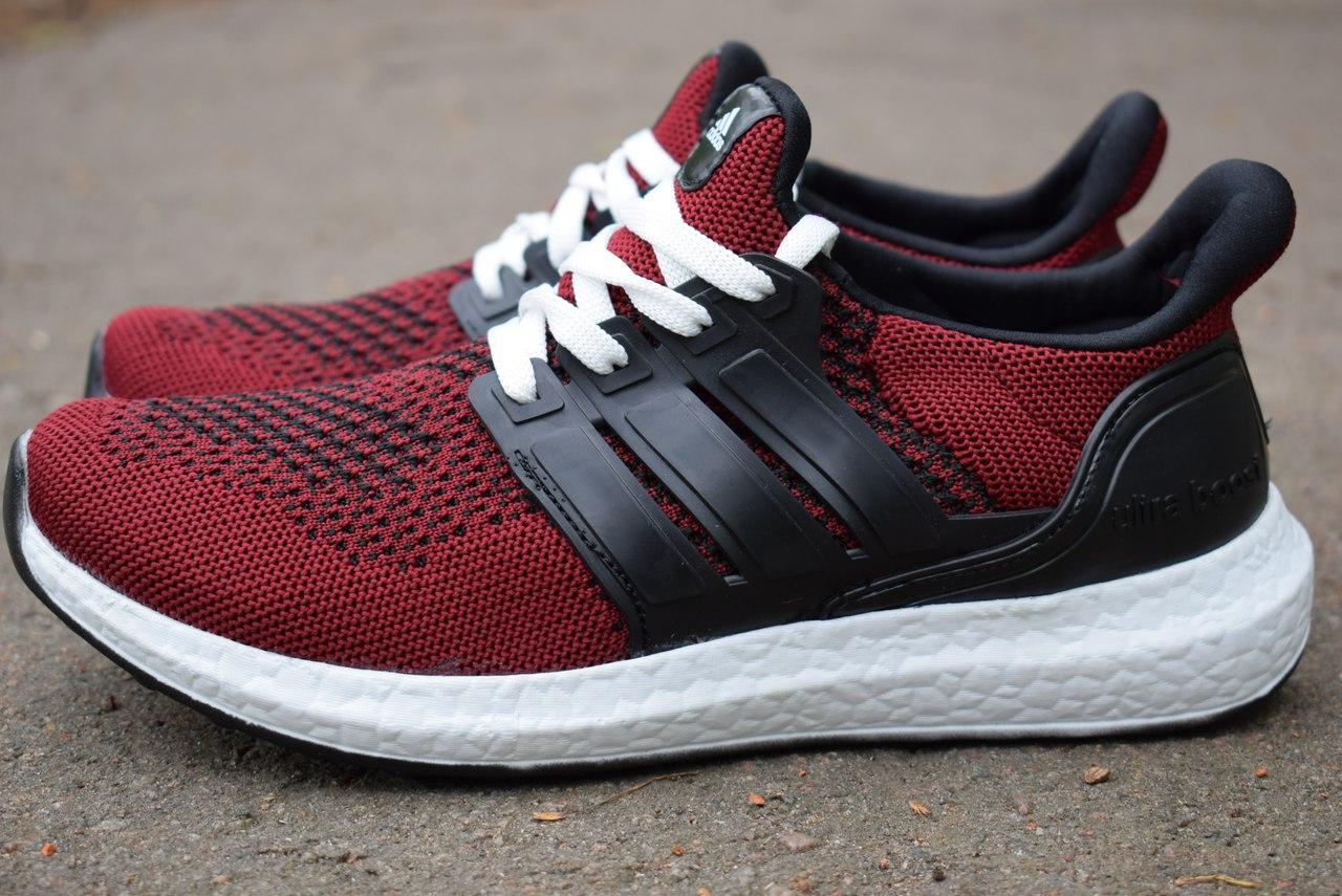 372c29fd4b797f Кроссовки мужские бордовые Adidas купить в Украине оптом и в розницу