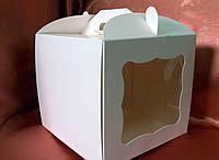 Тортовая упаковка 230*230*210 (мелованный картон)