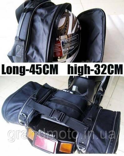 Бічні сумки - кофри для мотоцикла Tanked 2х35л