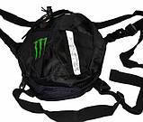 Набедренная сумка для мотоциклиста Monster Energy овальная, фото 2