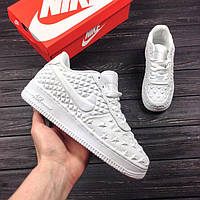 37 размер, Женские Кроссовки Nike Air Force 1 White USA Independence Day