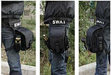 Набедренная сумка водостойкая SWAT, фото 4