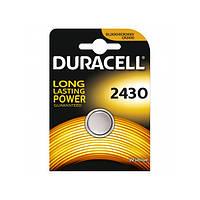 Батарейки Duracell - 2430 Lithium / CR2430 Li-Ion 3V 1/10/100шт