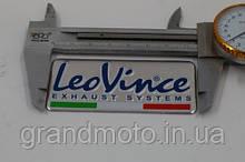 Металева табличка на глушник Leo Vince