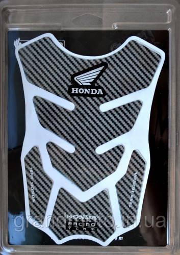 Наклейка на бак карбон Honda Split