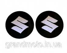 Наклейка логотип Suzuki з алюмінієвим напиленням