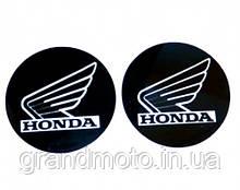 Наклейка логотип Honda з алюмінієвим напиленням