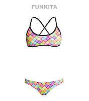 Женский раздельный купальник Funkita Powder Puff FS39, фото 1