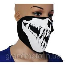 Неопренова маска для захисту обличчя від пилу і вітру.