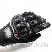 Літні мотоперчатки пробайкер розмір М, L, XL, XXL.