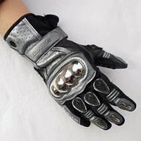 Мотоперчатки Scoyco MC13 кожа/текстиль/металл
